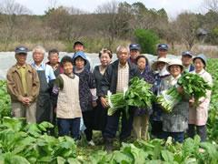 茨城県の農家の方々
