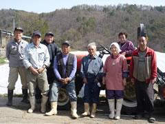 長野県の農家の方々